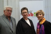 Walter Schlager, Monika Posch und Landes-Obfrau Ingrid Korosec